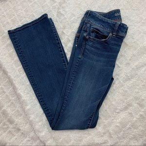 AEO | Super Steve Kick Boot Jeans | Size 4 Reg